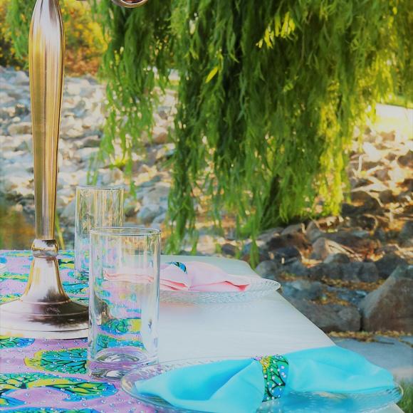 Embellished Ankara-Print Table Runner u0026 Napkin Set & Embellished Ankaraprint Table Runner Napkin Set   Poshmark